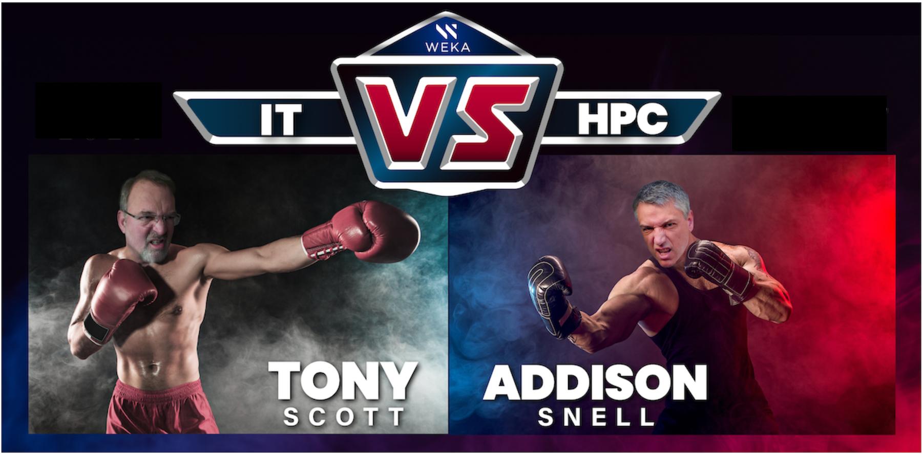 Tony Scott vs Addison Snell